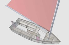 Insider Dinghy drawing 1