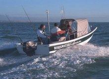 The Workstar Fisherman off Poole, Dorset, England