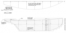 Half Model Plan PAPOOSE profile