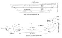 Half Model Plan PETREL profile