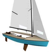 Dinghy daysailer