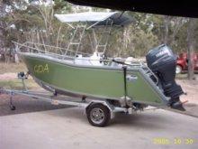 Aluminum Center Console boats