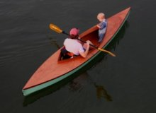 Fox Decked Double Paddle Canoe