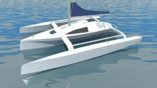 M80 trailable trimaran