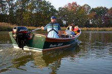 Peeler Skiff for a family outing