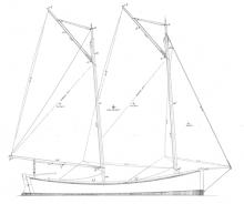"18' 8"" Mackinaw profile"
