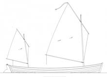 Sailing Canoe, Piccolo profile