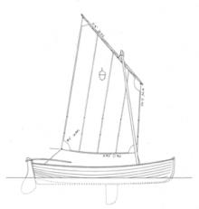 11'9 Acorn Skiff profile