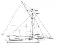 Pemaquid Friendship Sloop profile
