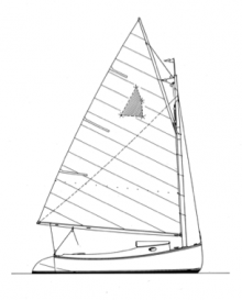 Wittholz 14' 11'' Catboat profile