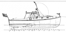 32' Lobstercruiser profile