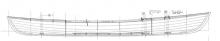 "13'  7""  MACGREGOR Canoe profile"