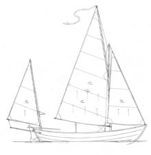 """19' 6"""" Caledonia Yawl profile"""