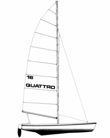 16' Quattro Catamaran profile