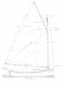 Catboat Tom Cat profile