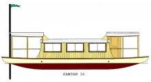 Sampan 36 Houseboat