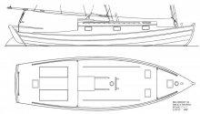 Sea Bright 36 Deck Plan
