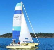 Strike 18 trimaran