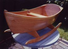 Jordan Wood Boats-Jolly Boat Rocker