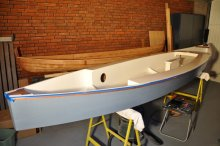 Viola 14 sailing canoe is minimal and lightweight