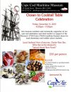 Cape Cod Maritime Museum 2nd Annual Ocean to Table Fundraiser