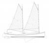 28' Sharpie EGRET profile