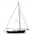 "24' 6""  Sloop,  TYPHOON profile"