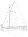 "20' 3"" Flatfish Class Sloop profile"