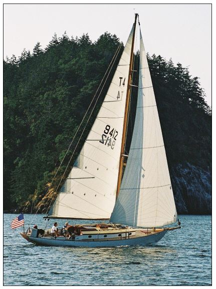 SYMRA was featured in WoodenBoat No. 264. Photo: Nancy Bourne Haley.