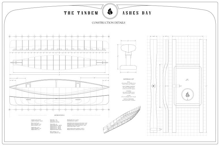 Canoe Plans for a Cedar Strip Canoe