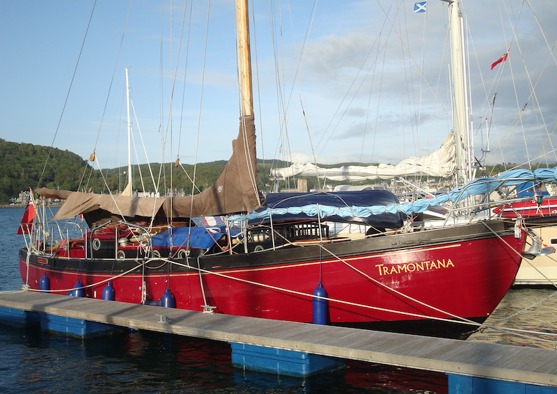 TRAMONTANA in July, 2015 at Oban, in Scotland, UK