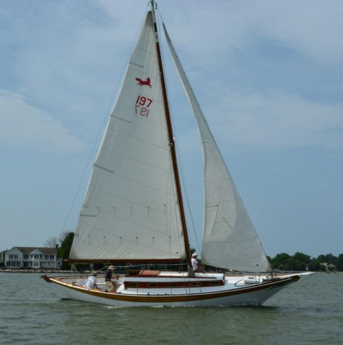 VIXEN on Chesapeake Bay
