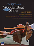 2014 WoodenBoat Show poster