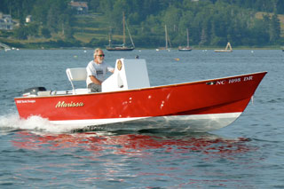 Eco 18 powerboat