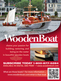 WoodenBoat Circ ad in Rudder magazine Sept 2012