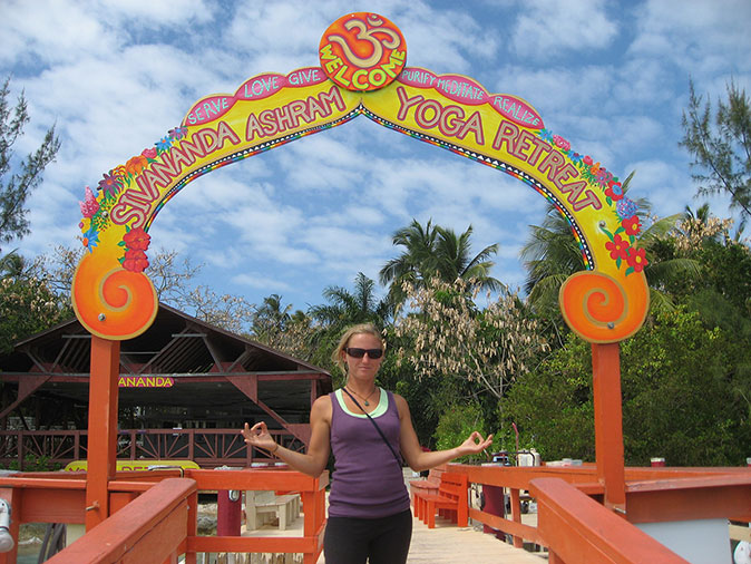 Entrance to Sivananda Ashram Yoga Retreat