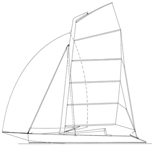 Conch sail plan