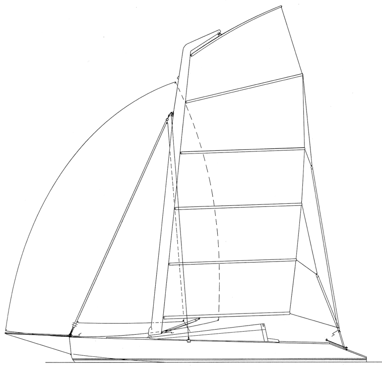 Conch sail plan.