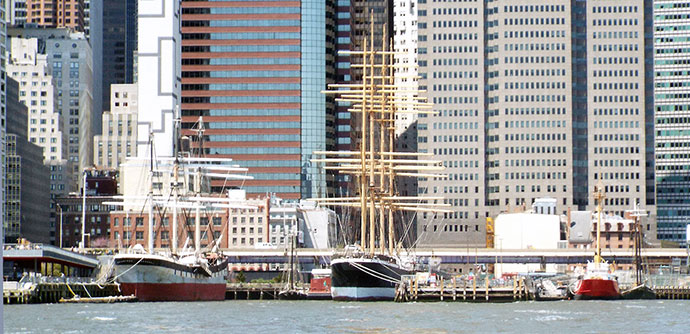 South Street Seaport Museum.