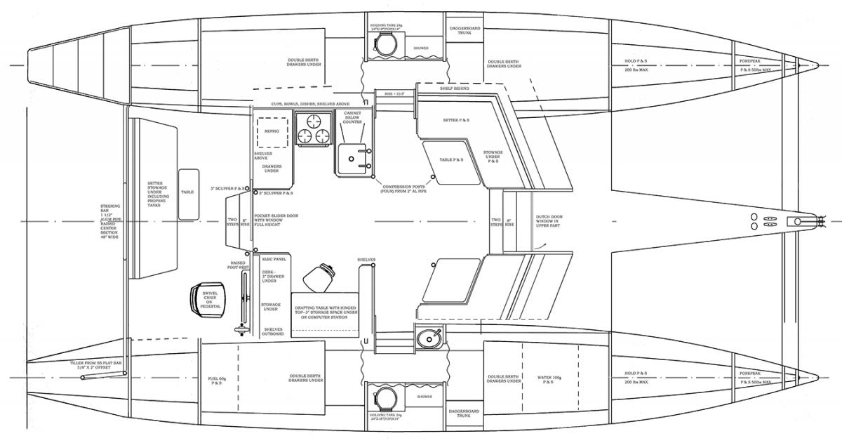 Piver V  Building Plans