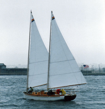 TERESA in the Mayor's Cup Race 1985