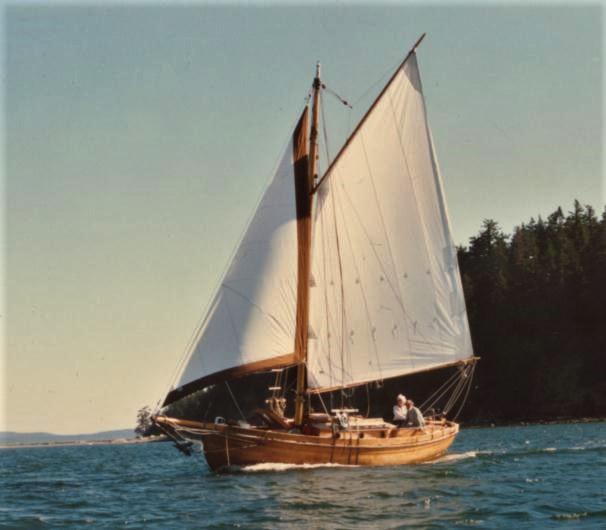 Wynfall sailing off Lopez Island