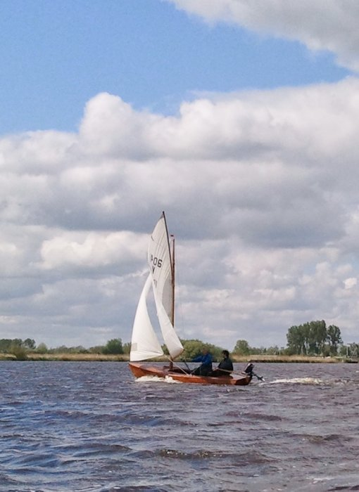 FURIE, Vrijheid V1406, in 2014 sailed by its present owner.