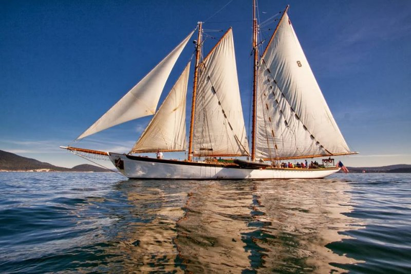 ZODIAC, a William H. Hand, Jr., schooner.